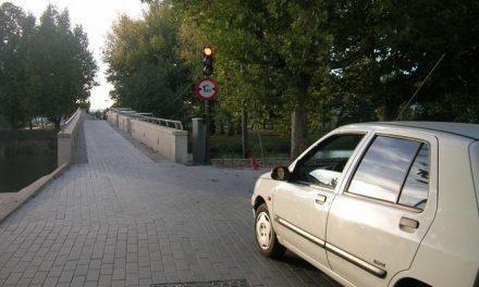 Las obras de reparación del puente de Moraleja obligan a cerrarlo al tráfico rodado hasta el mes de febrero