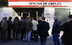 El paro aumentó en 16.300 personas en 2008 en Extremadura en relación al año anterior
