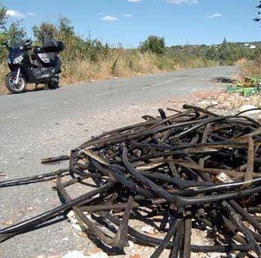 La Guardia Civil detiene a 17 personas de una banda que robaba cable de cobre en nueve comunidades