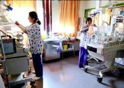 El hospital de Mérida practica la cesárea en uno de cada tres partos, según datos facilitados por el SES