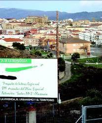El TSJEx anula a la Junta de Extremadura el PIR de San Miguel en Plasencia, con 599 pisos previstos
