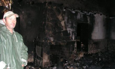 Un combustible causó el incendio que provocó la muerte de un joven de 30 años en Ceclavín