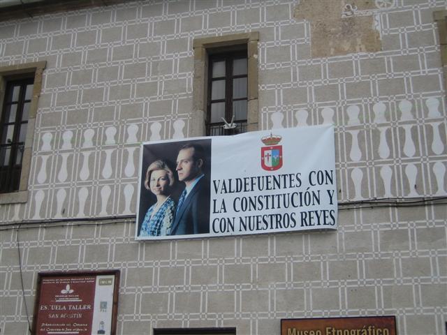 Valdefuentes quiere liderar un movimiento de apoyo a los Reyes y la Constitución a nivel nacional