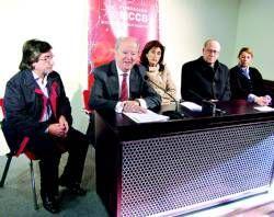 El II premio internacional de periodismo de la Fundación Mercedes Calles apoyará la candidatura al 2016