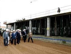 El nuevo parque de bomberos del Nevero en la capital pacense estará terminado en enero del 2009