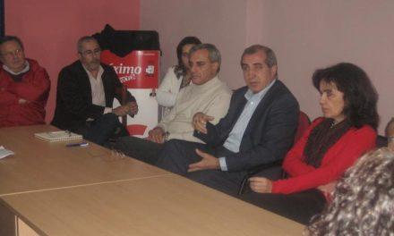 La Ejecutiva del PSOE muestra su apoyo a los grupos municipales de Moraleja y Vegaviana