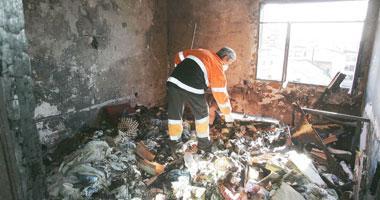 Un hombre ha fallecido esta madrugada en el incendio de su vivienda en la calle Almendralejo de Mérida