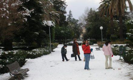 El 112 decreta la alerta naranja por nieve en el norte de Cáceres, Las Villuercas y la zona de Montánchez