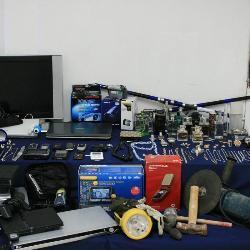 La policía nacional desmantela una red 'militar' que perpetraba robos en viviendas y comercios