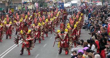 Unas 3.500 personas participarán en Badajoz en el desfile de Carnaval del domingo día 22