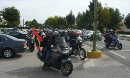 La Guardia Civil celebra la primera Ruta Motera Virgen del Pilar con motivo de la celebración de su patrona