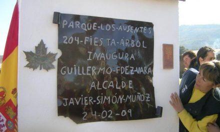 Fernández Vara elogia a Villanueva de la Sierra por dedicar un bosque a las víctimas de género