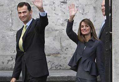 Los Príncipes de Asturias presiden la entrega del Premio Puente de Alcántara a la presa de Alqueva