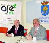 El colectivo Jóvenes Empresarios de Extremadura se establece en Navalmoral de la Mata