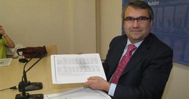 Fragoso, el primer teniente de alcalde de Badajoz se muestra orgulloso por la confianza de Celdrán en él