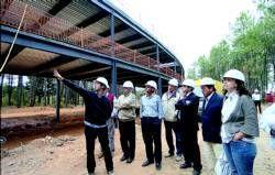 El centro físico deportivo de Guijo de Granadilla está entre los finalistas de la X Bienal de Arquitectura