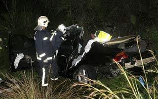 Un accidente de tráfico en Santa Amalia se salda con muerto y tres heridos en un choque frontal de vehículos