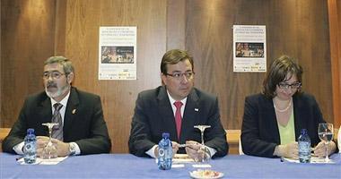 Fernández Vara anima a las víctimas del terrorismo a denunciar la frialdad de los poderes públicos