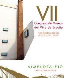 Almendralejo acogerá del 15 al 18 de abril el VII Congreso de Museos del Vino de España