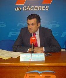 El popular García Ballestero pregunta en el Senado por la ubicación de la estación del AVE en Plasencia