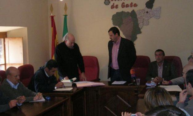 Alfonso Beltrán vuelve a la presidencia de la Mancomunidad de Gata tras la renuncia de Porras