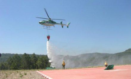 El incendio de la finca Pejinoso, en Sierra de Gata, está controlado y ha afectado a unas 50 hectáreas