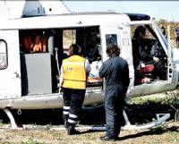 Dos heridos graves y uno leve en un accidente