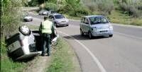 Un accidente de tráfico deja un herido leve en una de las salidas de la localidad de Coria