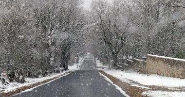 El frío y la nieve llegan de nuevo en estas fechas al norte de la provincia de Cáceres