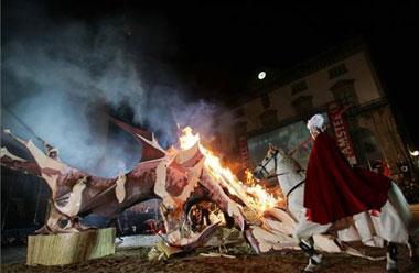 La festividad de San Jorge, patrón de Cáceres, amplía su programación a una veintena de actividades