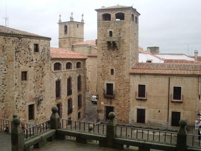 El conjunto histórico de Cáceres puede visitarse en tres dimensiones gracias a una digitalización