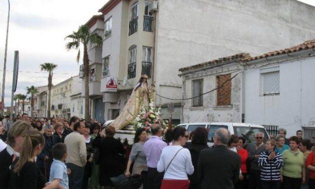 Moraleja inicia las celebraciones en honor a la Virgen de la Vega con su traslado a la localidad