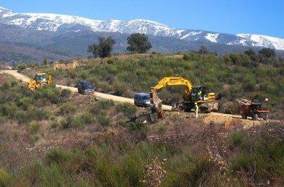 Ecologistas en Acción critica las obras de la depuradora de Villanueva de la Vera porque afectan al Río Lobos