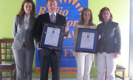 La consejera de Economía, Dolores Aguilar, valora el compromiso de Radio Interior con Extremadura