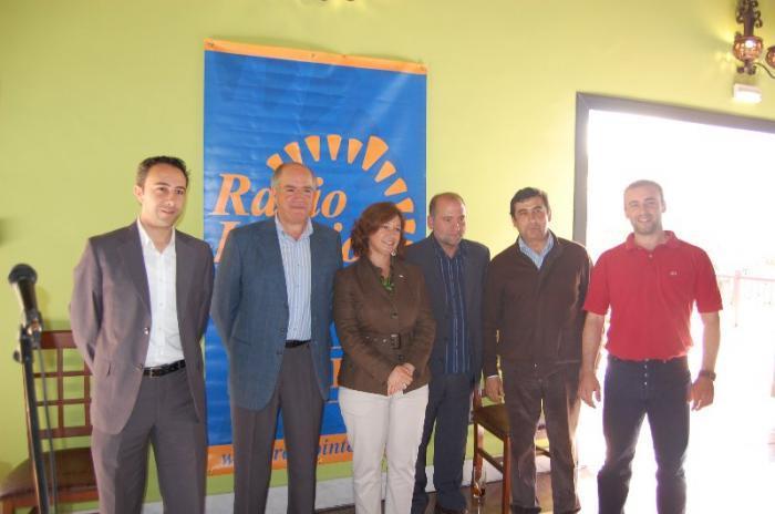 Aguilar se compromete con los empresarios del noroeste cacereño a estudiar sus problemas y apoyarles