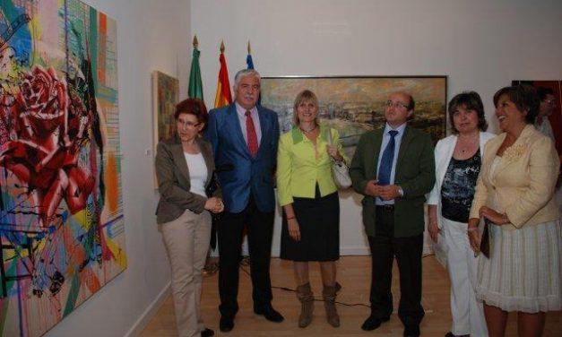 La Diputación Provincial dispone de un nuevo espacio destinado al arte en la Sala Pintores de Cáceres