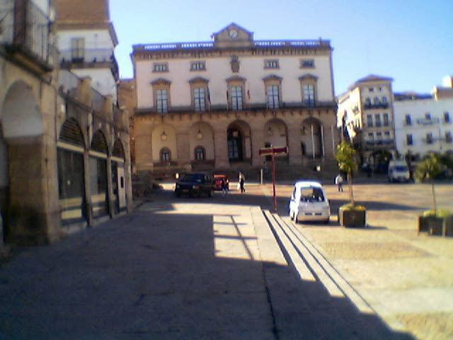 """La Plaza Mayor acoge desde mañana y durante el fin de semana la muestra """"Cáceres, ciudad de las Aves"""""""