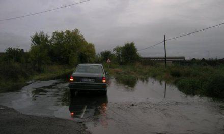 Varios barrios de Badajoz sufren inundaciones debido a las lluvias y tormentas de las últimas horas