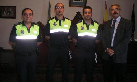 La plantilla de la Policía local de Coria cuenta con dos nuevos agentes que cubren plazas vacantes