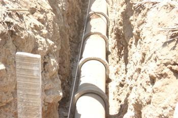 Alagón dispondrá de un nuevo colector de saneamiento con una inversión de 159.600 euros