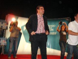 """Fernández Vara apela en Montehermoso a votar el 7-J porque """"el futuro se conquista y se trabaja"""""""