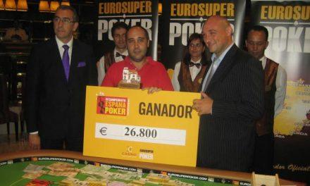 El cacereño Luis Rodríguez gana la etapa de Valladolid del IV Campeonato de España de Poker