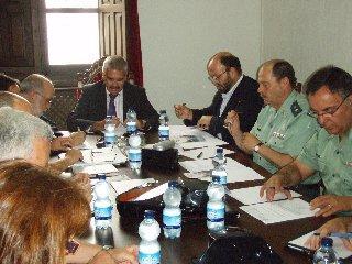 La Junta Local de Seguridad de Coria ha analizado el dispositivo de seguridad de las fiestas de San Juan 2009