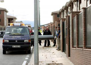 La Policía encuentra el cuerpo sin vida de un hombre en una vivienda de La Mejostilla en Cáceres