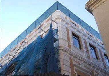 La asociación Amigos de Badajoz pide que se rebaje la planta de cristal del antiguo Bárbara de Braganza
