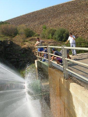 Los regantes del Borbollón que se queden sin agua solicitarán la condonación de la tarifa de riego a la CHT