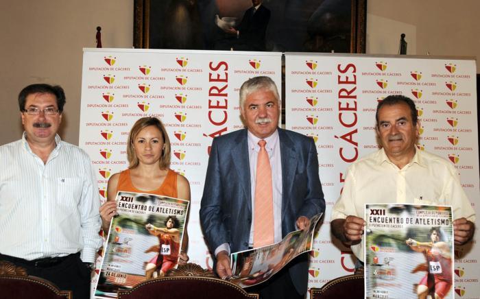 """Más 200 atletas participarán en el XXII Encuentro de Atletismo """"Diputación de Cáceres"""" el día 24 de junio"""