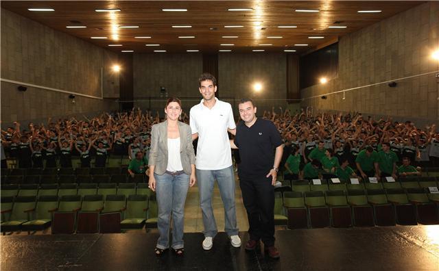 Calderón inaugura el III Campus que lleva su nombre con 300 niños y jóvenes de varios puntos de UE