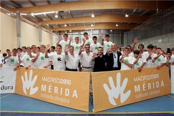 La Junta de Extremadura apoya la candidatura de la ciudad de Mérida 2016 como subsede olímpica