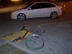El ciclista extremeño, Rodrigo García, sufre heridas tras ser arrollado por un vehículo mientras entrenaba